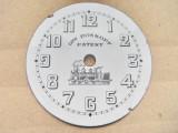 A391-I-Cadran vechi Gre Roskoph Patent portelan ceas buzunar barbat.