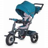 Tricicleta Multifunctionala Giro Plus Albastru, Coccolle