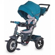 Tricicleta Multifunctionala Giro Plus Albastru