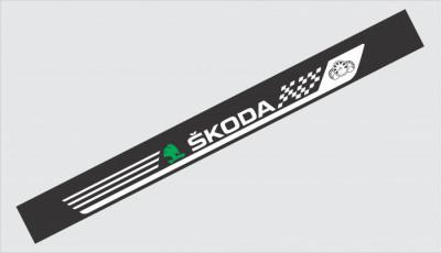 Sticker Parasolar Skoda (126 x 16cm) foto