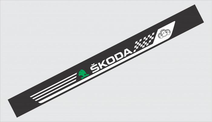 Sticker Parasolar Skoda (126 x 16cm)