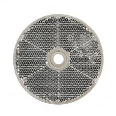 Reflector rotund, alb, diametru 60mm