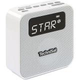 Radio cu ceas TechniSat Digitradio Flex, 1.5W, DAB+, Bluetooth, USB, alb, Technics