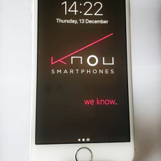Apple iPhone 6S 64GB Silver, stare cosmetica si functionare excelente! Neblocat, Argintiu