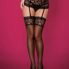 Ciorapi Sexy Cu Dantela, Negru, XXL
