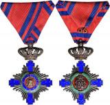 Ordinul - Steaua României, in grad de cavaler.