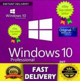 Microsoft Windows 10 Pro Professional 32/64 Bit️ ✔ Activarea licenței pe viață ✔