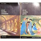 Arta Occidentului 2 volume : Evul mediu gotic, Evul mediu romanic