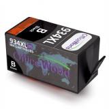2x 934XL negru Cartuse cerneala, OfficeWorld, HP Officejet Pro 6830 6820 6230etc