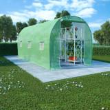 Seră, 9 m², 4,5 x 2 x 2 m, vidaXL