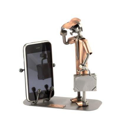 SUPORT CU TELEFONUL MOBIL LA URECHE - AURIU - Steelman24 foto