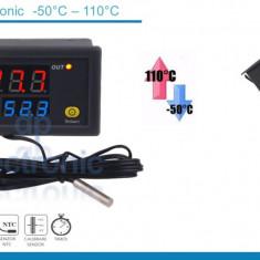 Termostat electronic temperatura -50 +110 grade 220V