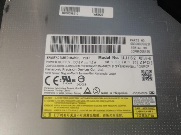 Panasonic UJ162 UJ-162 6X 3D Blu-Ray Player Combo BD-ROM 8X DVD Super Slim 9.5mm