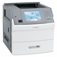 Imprimanta laser monocrom Lexmark T656DNE, Duplex, Retea, 55ppm, A4