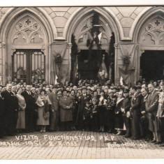 SV * Romania  IASI 1933 * DELEGATIA FUNCTIONARILOR PKP / CAILE FERATE POLONIA  !, Necirculata, Fotografie