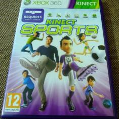 Joc Kinect Sports, XBOX360, original, alte sute de jocuri!, Sporturi, 3+, Multiplayer