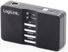 Placa de sunet Logilink Sound box 7.1 USB foto