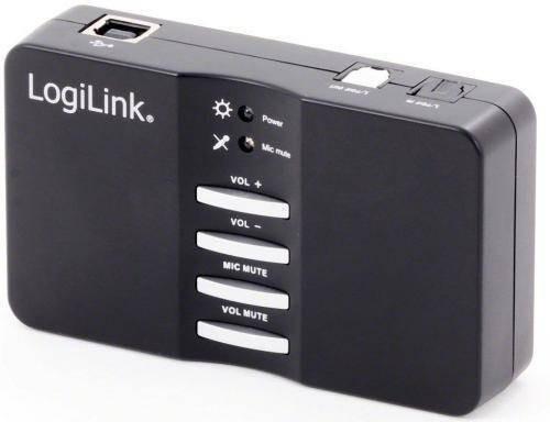 Placa de sunet Logilink Sound box 7.1 USB