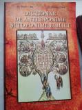Cata si Cata, DICTIONAR DE ANTROPONIME SI TOPONIME BIBLICE