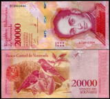 Venezuela 2017/2018 - 20000 bolivares UNC