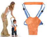 Suport tip ham ajutator, premergator copii, portocaliu-albastru