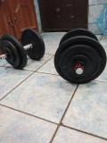 Set gantere reglabile 17kg x 2 = 34kg, 35, Domyos