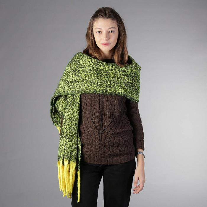 Fular dama BC05 verde deschis