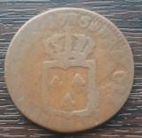 (M1077) MONEDA FRANTA - 1 SOL 1785, REGELE LUDOVIC AL XVI-LEA