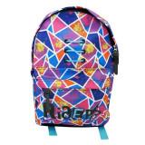 Ghiozdan Riders pentru fete, liceu si gimnaziu, impermeabil, multicolor