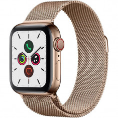 Smartwatch Apple Watch Series 5 GPS Cellular 40mm Gold Stainless Steel Case Gold Milanese Loop