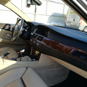 BMW seria 5 E60 525d facelift 167000 km cu carte service BMW