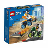 LEGO® City Great Vehicles - Echipa de cascadorii (60255)