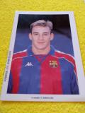 Foto - jucatorul Albert FERRER cu autograf original (FC Barcelona)