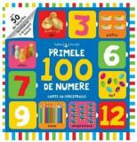 Bebe invata. Primele 100 de numere. Carte cu ferestruici/***