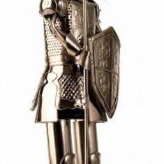 Suport pentru Sticla Vin model Cavaler metal Lucios Capacitate 1 Sticla H 61 cm
