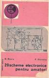 20 scheme electronice pentru amatori M. Basoiu, C. Costache 1979