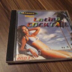 CD VARIOUS - ATOMIC ROMANIA LATINO COCKTAIL 2003 ORIGINAL