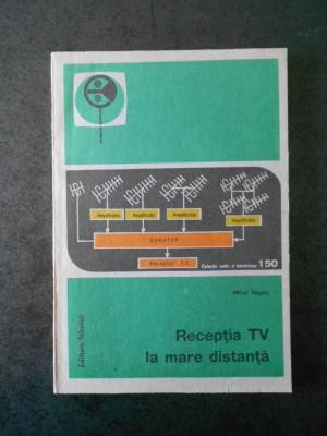 MIHAI BASOIU - RECEPTIA TV LA MARE DISTANTA foto