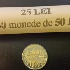 FISIC 50 bani 2019 30 ani de la Revolutia Romana din decembrie 1989