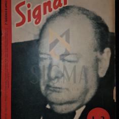 """REVISTA DE PROPAGANDA HITLERISTA """"SIGNAL"""", NUMARUL 8 DIN APRILIE 1943 - SIGNAL, REVISTA DE PROPAGANDA HITLERISTA, NUMARUL 8 DIN APRILIE 1943"""