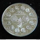 Cumpara ieftin Moneda - L'Europe des XXVII 50 years of the New Franc, Europa, Nichel