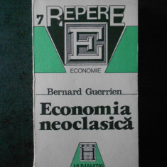 BERNARD GUERRIEN - ECONOMIA NEOCLASICA
