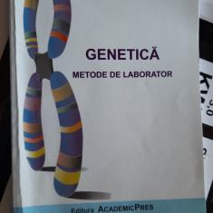 GENETICA  METODE DE LABORATOR - AUREL POPESCU