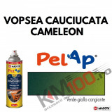 Spray vopsea cauciucata CAMELEON (verde - galben), Profesional, MACOTA ITALY, 500ml