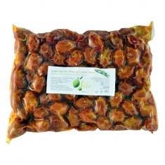 Măsline verzi Halkidiki cu ardei dulce, 1kg