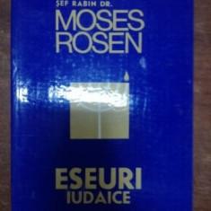 Eseuri iudaice- Moses Rosen