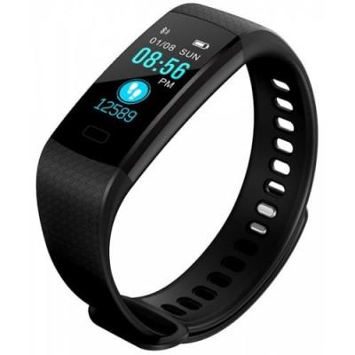 Bratara Smart Fitness Sport Y5 Bluetooth 4.0 Waterproof cu Monitorizare Somn, Cardiaca si Pedometru, compatibila Android iOS foto