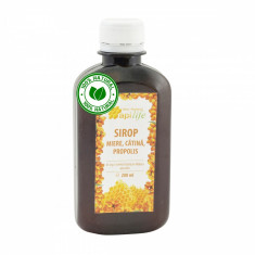 Sirop apiterapeutic cu miere, catina si propolis - ApiLife -  200 ml