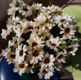Buchet flori artificiale - FLORICELE 15 PCS , H 31  cm CREM