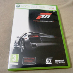 Joc Forza Motorsport 3,  XBOX360, original, alte sute de jocuri!, Curse auto-moto, 12+, Multiplayer